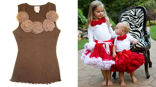 oopsy top and pettiskirts