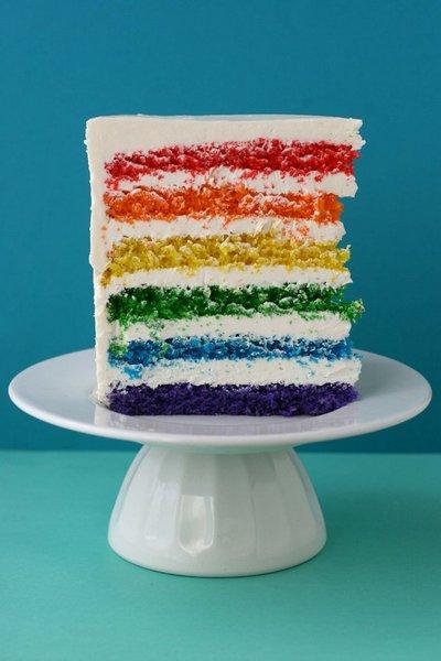 Rainbow Cake1 Eat a rainbow   the perfect birthday cake