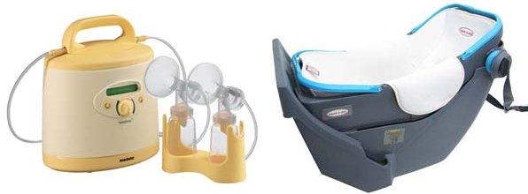 medela breast pump, baby capsule hire