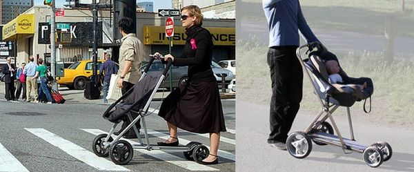 Roller Buggy as a scooter and a pram