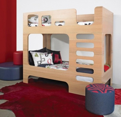 Scoop bunk beds