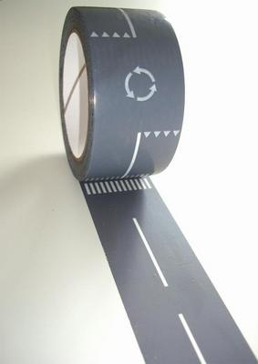 Car tape roll