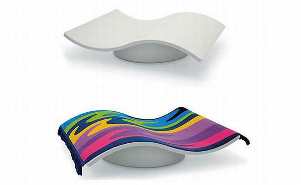Eero Aranio Flying Carpet Rocking Chair
