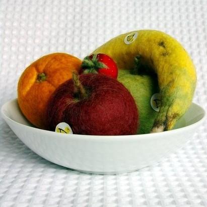 Woolly Duck fruit bowl