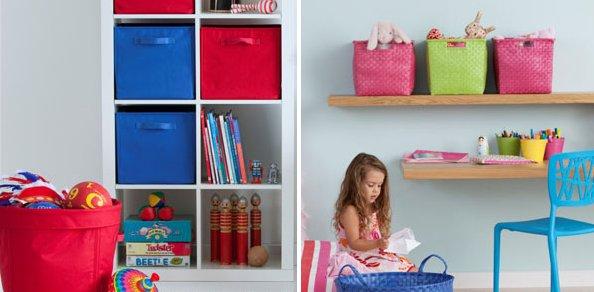 bright children's storage