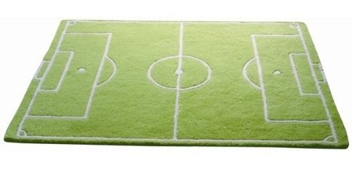 Hippins soccer pitch rug
