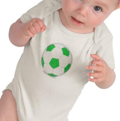 Zazzle soccer onesie