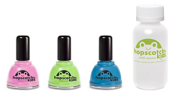 Hopscotch Kids non-toxic nail polish
