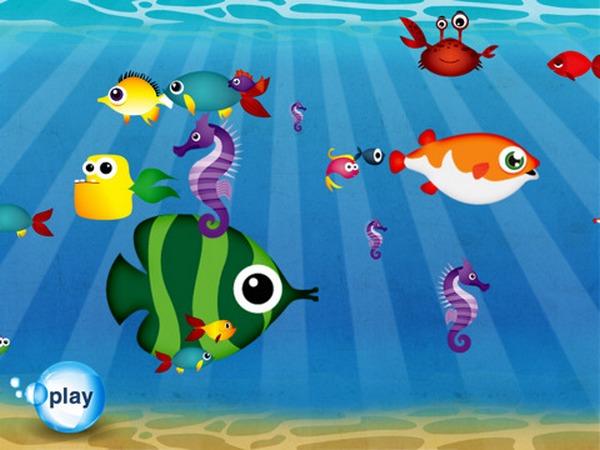 Fish School iPad app