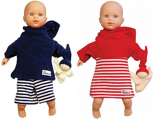 Keptin-Jr organic baby doll