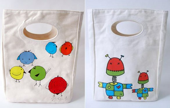 fluf lunch bags