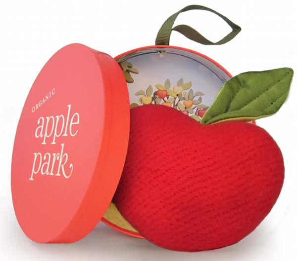 apple park apple seed rattle australia billy lids soft toy