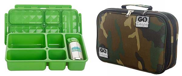 No waste Go Green Lunch Box