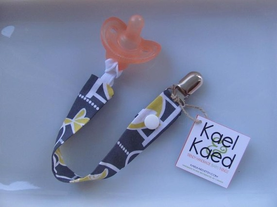 Kael & Kaed Designs toy/sippy/pacifier strap