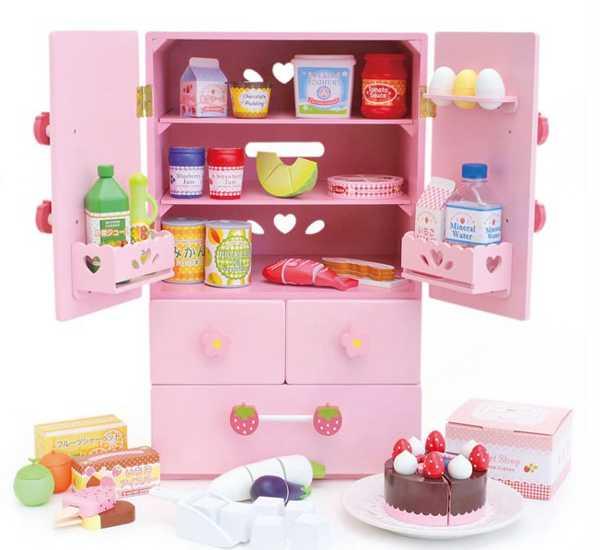 Mother Garden Wooden Toys kitchen pink