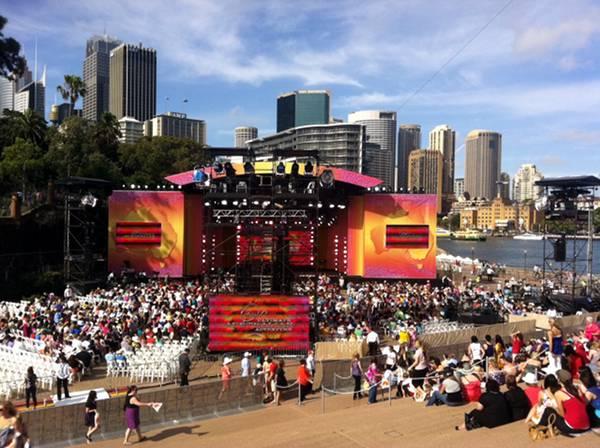 Oprah Australia 2010