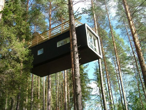 Tree Hotel Sweden The Cabin