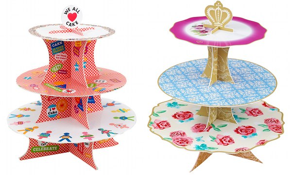 talking tables cake stands lark party ware