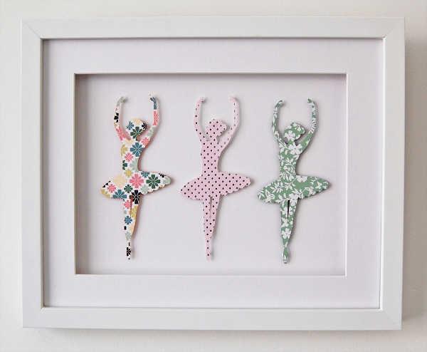 Hugs and Inspiration ballet ballerinas wall art
