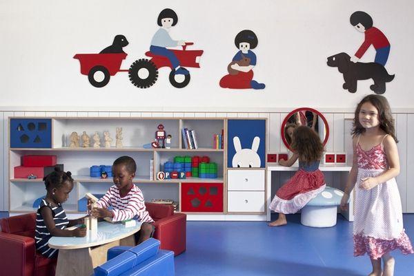 Ramat Gan kindergarten, Tel Aviv, Israel, Hay