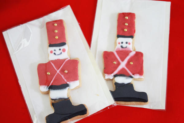 soldier gingerbreads