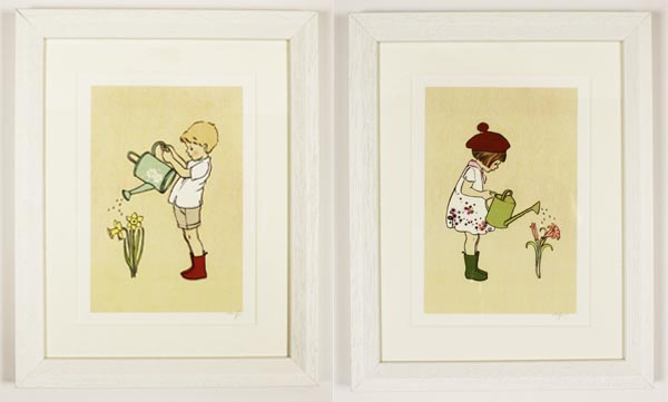 Nursery art, childrens illustration, Mandy Sutcliffe