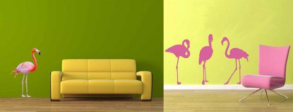 flamingos wall decals 1