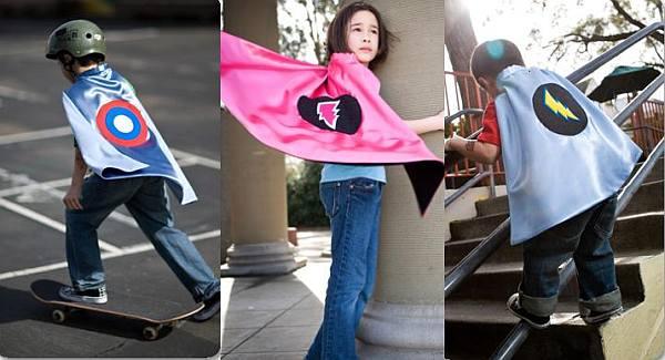 Baby Leo Superhero dress up capes