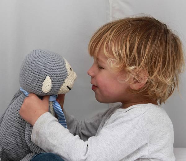 ladedah Kids toys, knitted toys