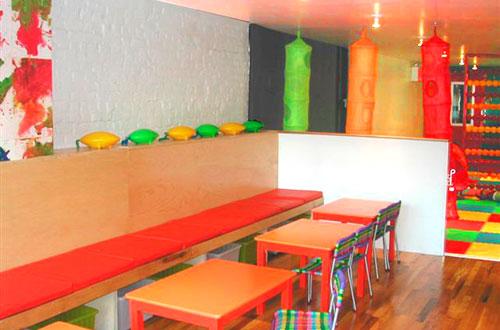 Cafe Boobah I-Beam Design