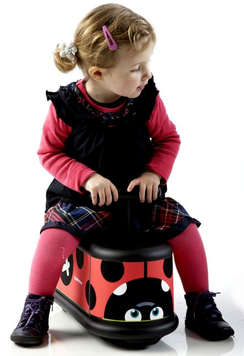 ride on toy, ladybug
