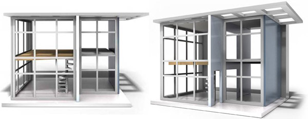 modern doll house, dollhouse
