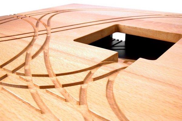 designer Train Table, Tomm Velthius