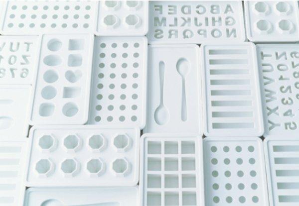 Muji silicone ice trays