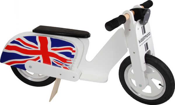 Kiddimoto scooter Vespa balance bike