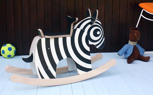 Newmakers Rocking Zebra