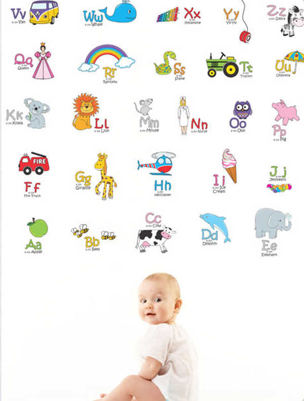 Alphabet Wall Stickers