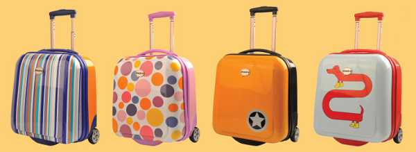 Pack'd children's luggage