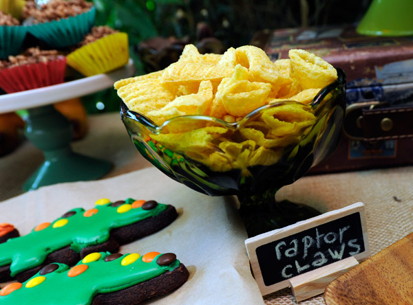 dinosaur birthday party food ideas