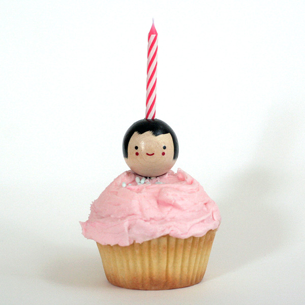 cupcake candle kid holder