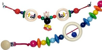 Hess Spielzeug pram strings