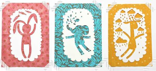 sofofo5, paper nursery art
