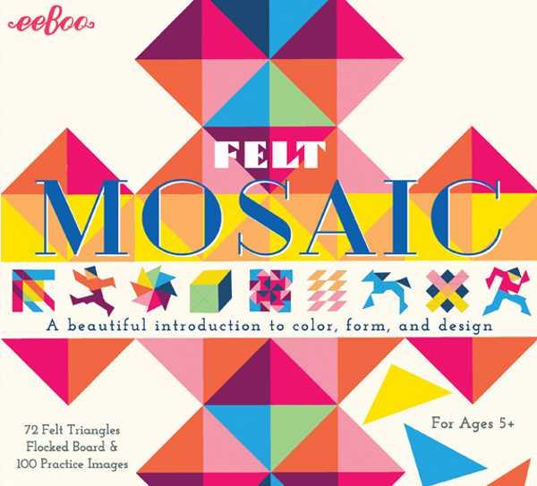 eeboo felt mosaic