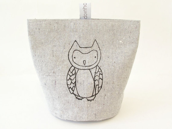 Owl snack pouch