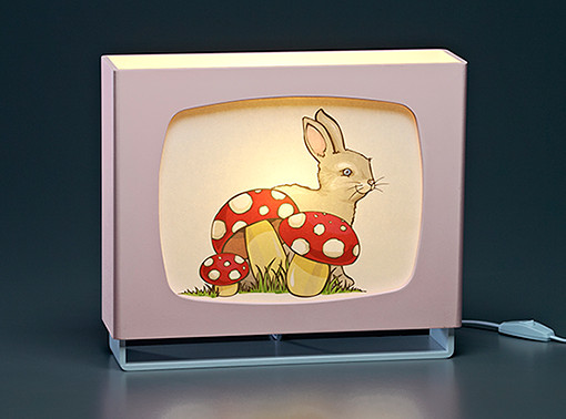 Womack and Womble retro kids' lamps