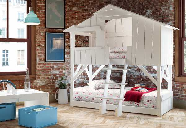 oliver2, cool bunk bed, treehouse bed