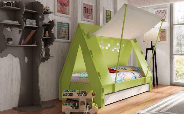 oliver5, tent bed