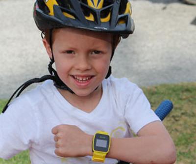 Tic Toc Track children's watch with GPS