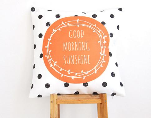 Love Joy Create etsy modern kids' pillows