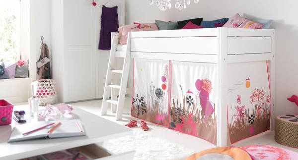 lifetimetent, girls loft bed
